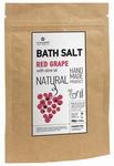 natuurlijke badzout rode druif