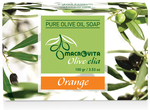 Pure olijfoliezeep sinaasappel