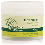 macrovita olive-elia body butter natural