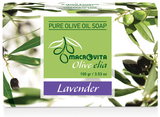 pure olijfoliezeep lavendel