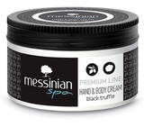 Messinian Spa black truffle body cream