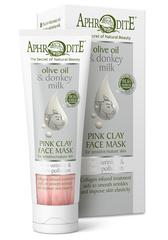 Aphrodite Roze Ezelinnenmelk Kleimasker (Gevoelige Huid)