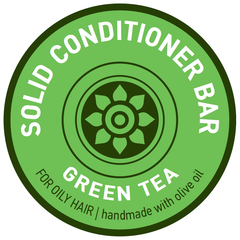 Aromaesti Conditioner Bar Groene Thee (vet haar)