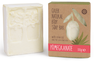 Aromaesti Body Soap Bar Granaatappel