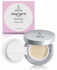 Youth Lab Check-Matte Liquid to Compact Powder