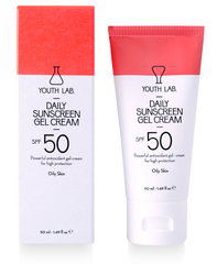 Youth Lab Daily Sunscreen Gel-Cream SPF50 (vette huid)