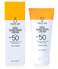 Youth Lab Daily Sunscreen Cream SPF50 (normale/droge huid)
