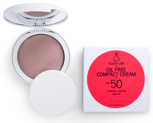 Youth Lab Compact Cream Powder SPF50 (donker getint)
