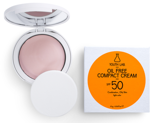 Youth Lab Compact Cream Powder SPF50 (licht getint)