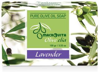 Olive-elia Pure Olijfoliezeep Lavendel
