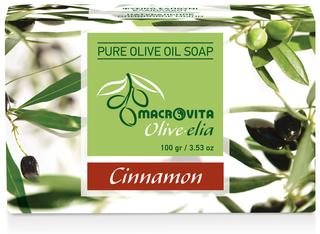 Olive-elia Pure Olijfoliezeep Kaneel
