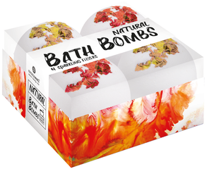 Aromaesti Bath Bomb Sparkling Fizzers (4 stuks)