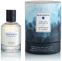 Blue Scents Eau de Toilette Cardamom & Vanilla for Men [100ml]