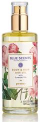 Blue Scents Body & Hair Dry Oil Pioenroos