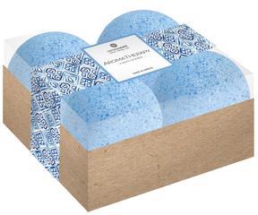 Aromaesti Bath Bomb Aromatherapie Set Blauw (4 stuks)