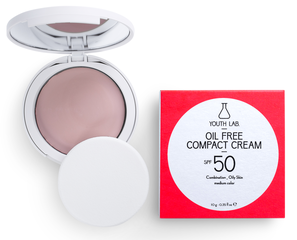 Youth Lab Compact Cream Powder SPF50 (medium tint)