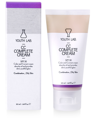 Youth Lab CC Cream SPF 30 (vette/gecombineerde huid)