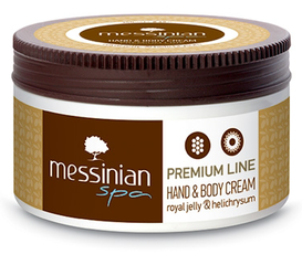 Messinian Spa Shimmering Hand & Bodycrème