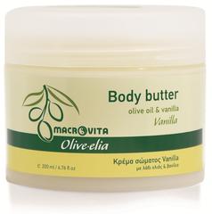 Olive-elia Body Butter Vanille (met échte vanille!)