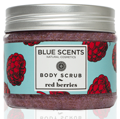 Blue Scents Body Scrub Red Berries