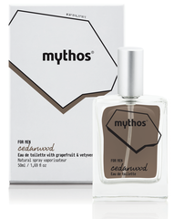 Mythos Eau de Toilette Cedarwood for Men [50ml]