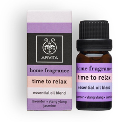 Apivita Essentiële Olie Blend - Time To Relax