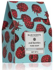 Blue Scents Red Berries Zeep Gift Set