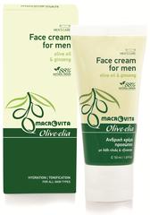 Olive-elia Gezichtscrème voor Mannen