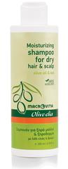 Olive-elia Shampoo voor Droog Haar en Droge Huid