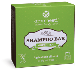Aromaesti Shampoo Bar Groene Thee (vet haar)