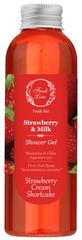Fresh Line Douchegel Strawberry & Milk