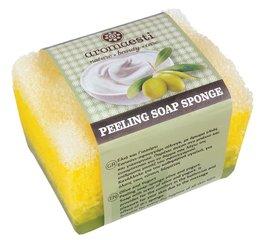 Aromaesti Scrub zeepspons olijf-yoghurt