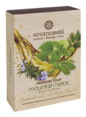 Aromaesti handgemaakte olijfzeep met bergkruiden