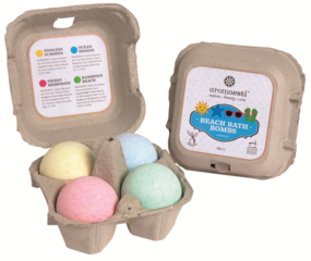 Aromaesti Beach Bath Bombs (4 pieces)