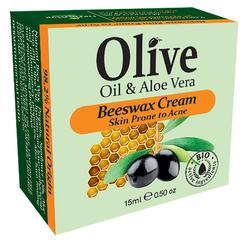 Herbolive Bijenwas crème tegen acne