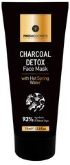 Fresh Secrets Houtskool Detox Gezichtsmasker