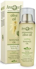 Aphrodite Soothing Massage-olie / Badolie