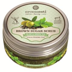 Aromaesti Brown Sugar Scrub Groene Thee