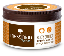 Messinian Spa Body Butter Sinaasappel & Lavendel