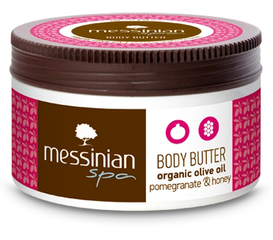 Messinian Spa Body Butter Granaatappel & Honing (80ml)