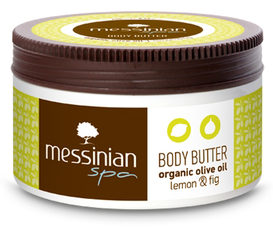 Messinian Spa Body Butter Citroen & Vijg (80ml)