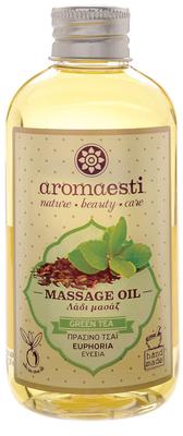 Aromaesti Massage-olie groene thee (euforisch)
