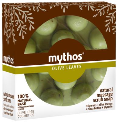 Mythos Massage scrubzeep olijfblad