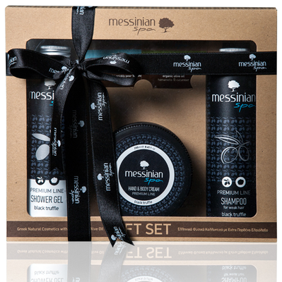 Messinian Spa Premium zwarte truffel gift set