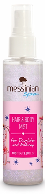 Messinian Spa Body mist silver glitter