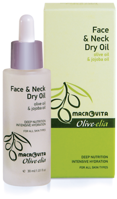 Olive-elia Face & neck dry oil