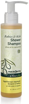 Olive-elia Douchegel-shampoo voor baby's