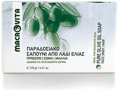 Macrovita pure olijfolie zeep