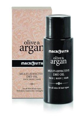 Olive & Argan Dry oil arganolie haar, gezicht & lichaam