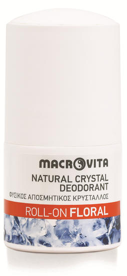 Macrovita Natuurlijke Deodorant roll-on floral